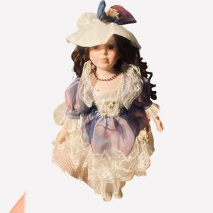 Beautiful new collectors Porcelain doll